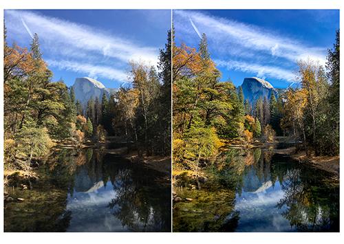 Yosemite Half Dome – Digital Editing