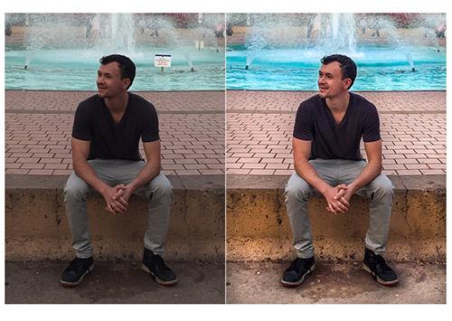 Water Fountain – Digital Editing